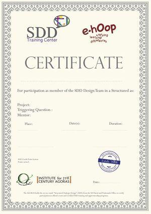 certificates for participation
